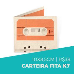 Pai Nostálgico - carteiras de fita k7